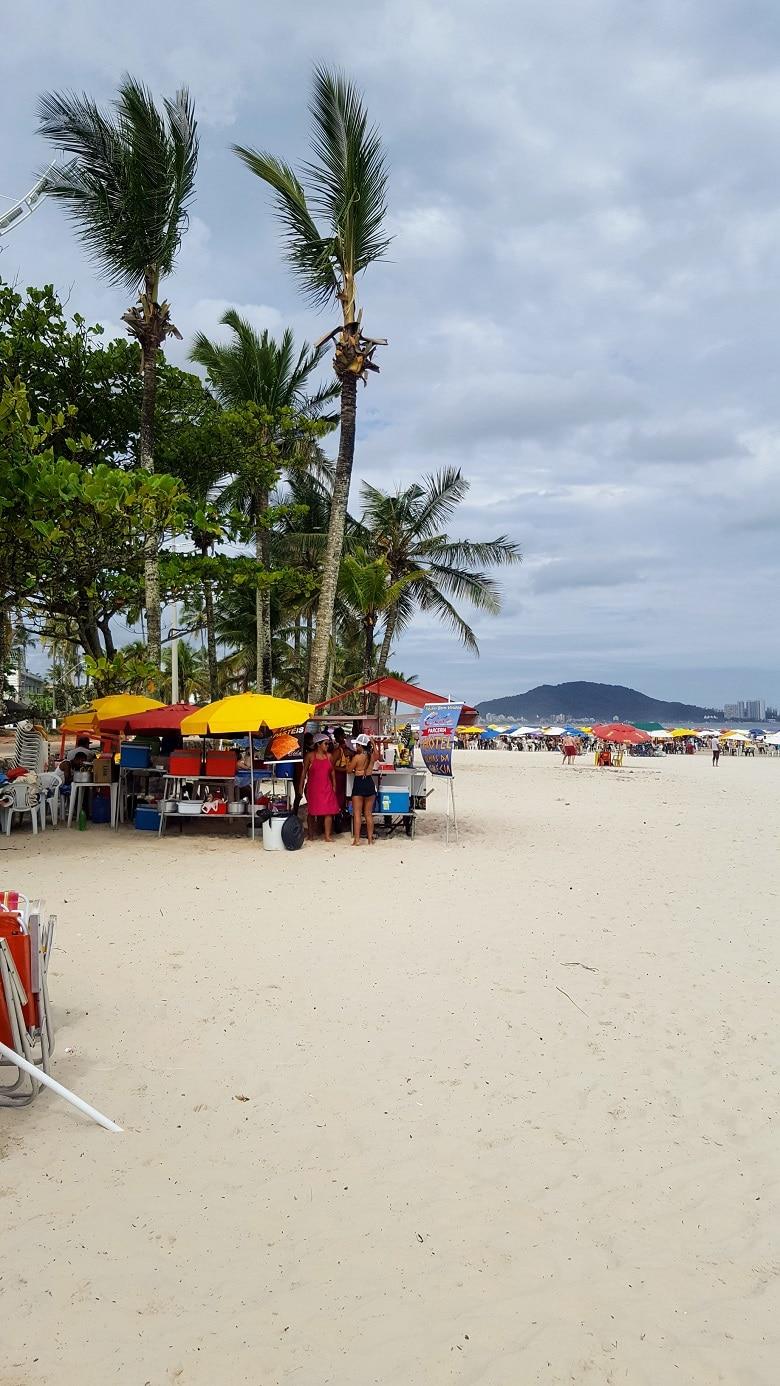 strandvakantie surfstrand Brazilie