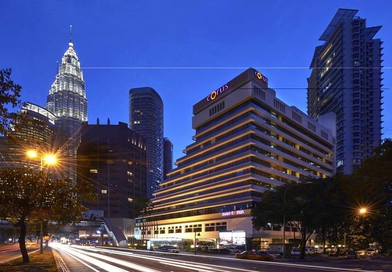 hotel tips centrum KL