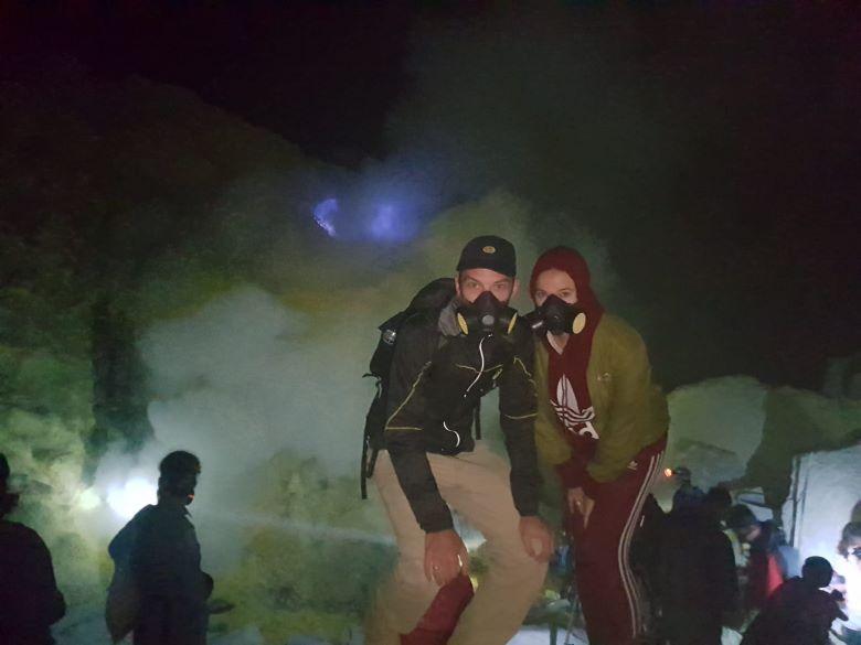 bezoek aan ijen of bromo vulkaan java