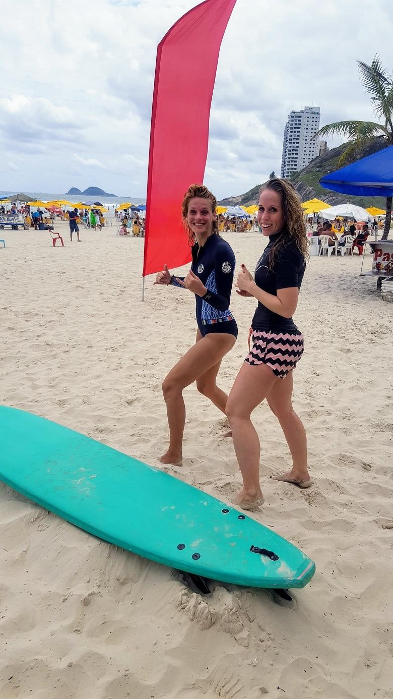 surfvakantie Guaruja Brazilie