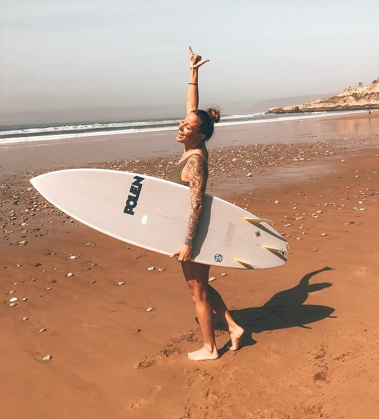 surfen in taghazout marokko
