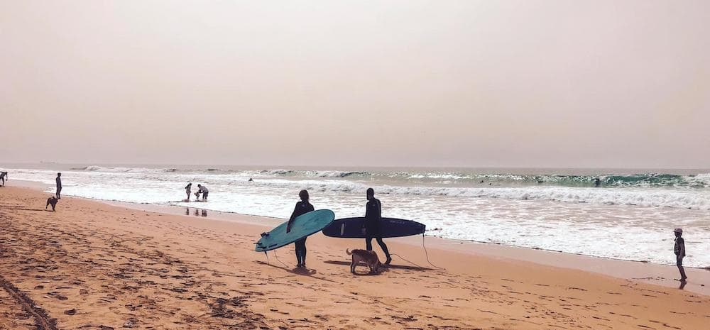 surfen taghazout marokko
