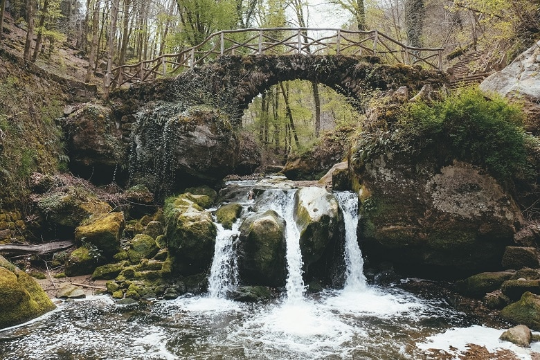 Schiessentumpel waterval Luxemburg mullerthal trail