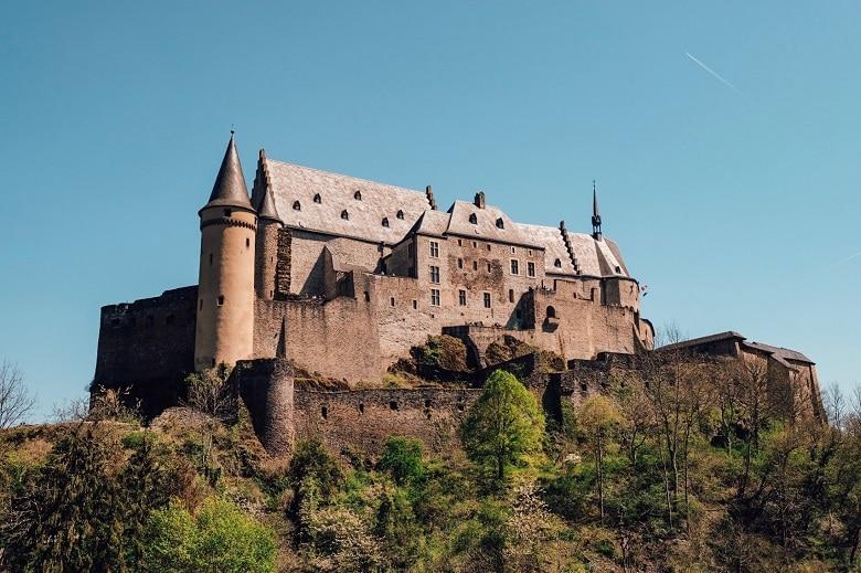kasteel vianden luxemburg