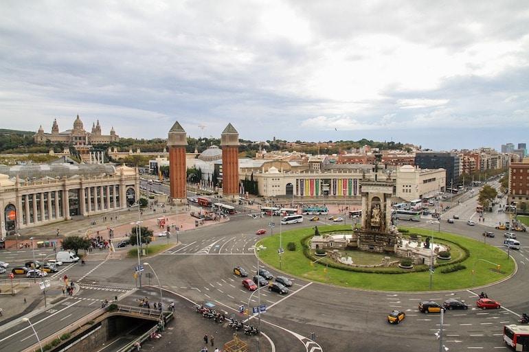 Place d'Espanya barcelona