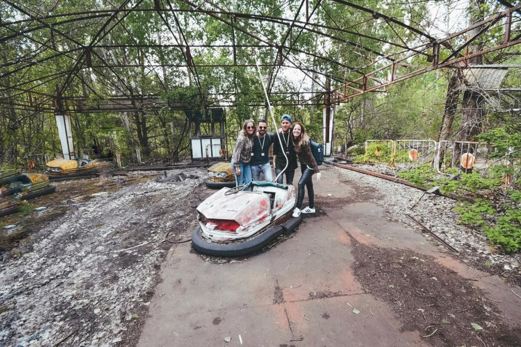 Amusementpark Pripyat Chernobyl