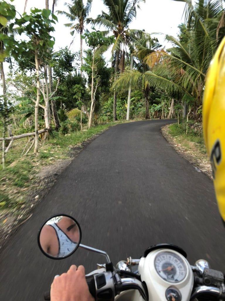 scooter huren Nusa Penida