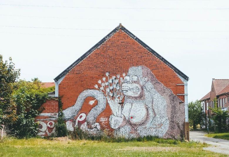Graffiti Spookstad Doel