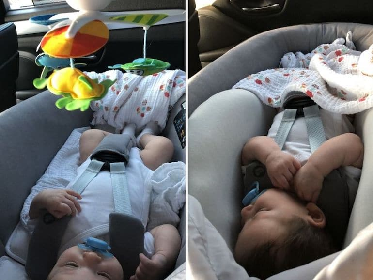 Autovakantie met baby