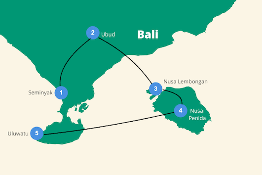 Bali backpacken 2 weken