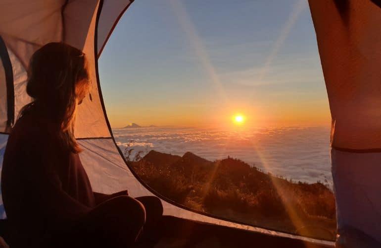 Vulkaan beklimmen Lombok
