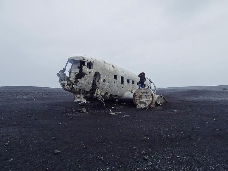 DC 3 Douglas vliegtuigwrak