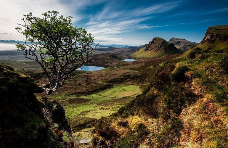 Fietsen-Schotland