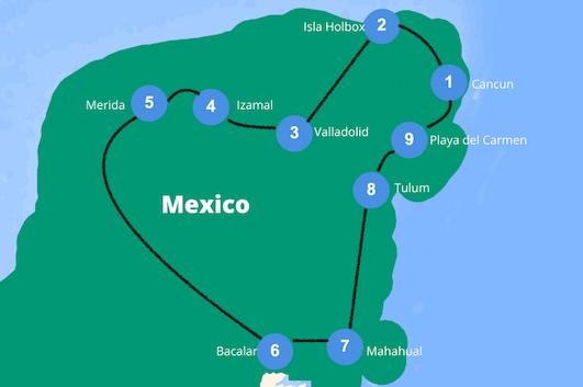 Mexico rondreis 3 weken