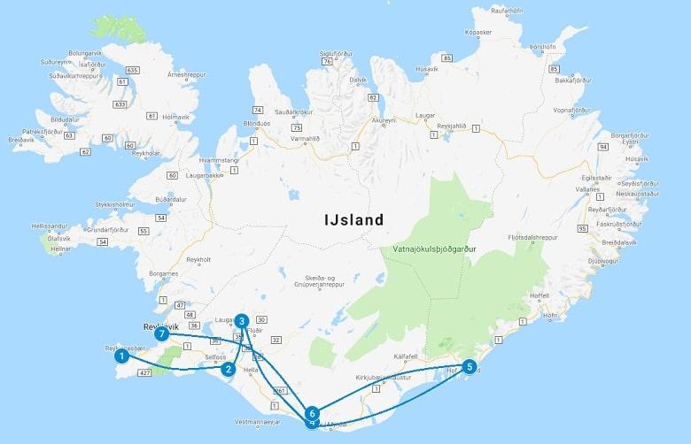 Roadtrip IJsland 1 tot 2 weken