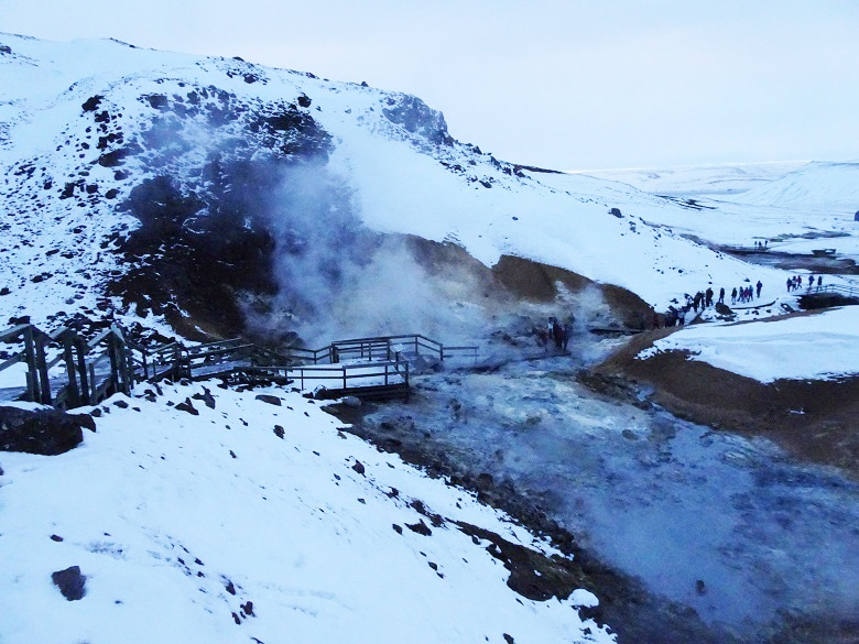Seltun Geothermisch gebied