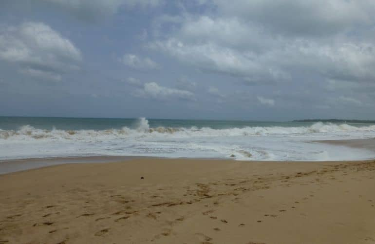 Stranden Tangalle zuidkust