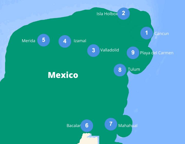 rondreis mexico 3 weken
