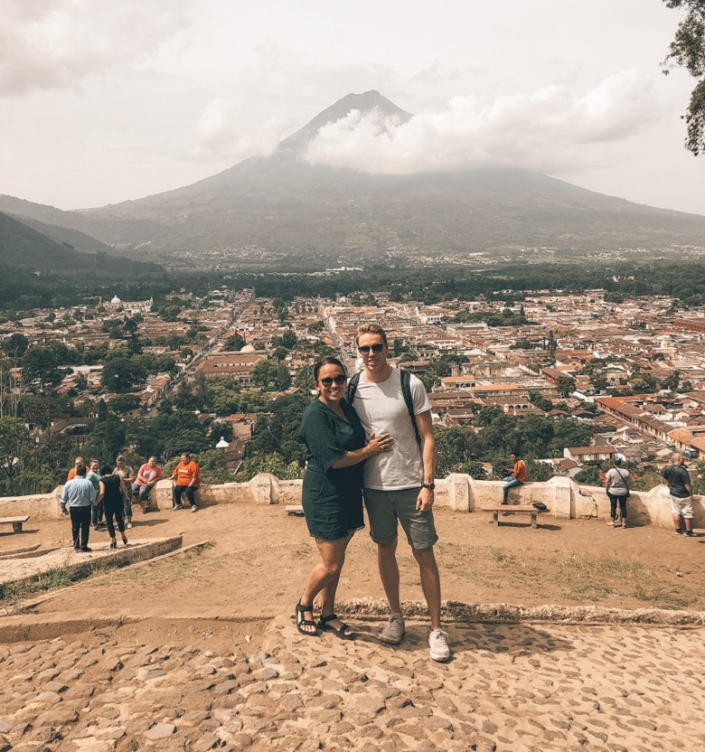 Tips uitzichtpunten Antigua Guatemala