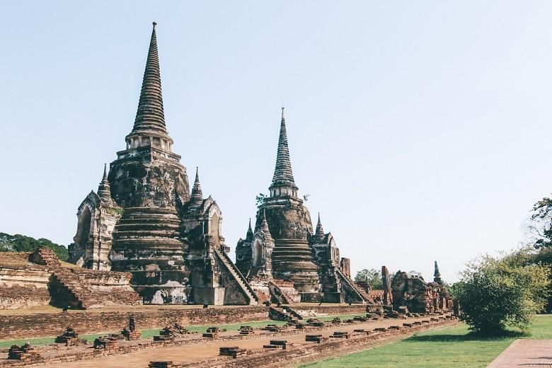 Ayutthaya tempels bezoeken