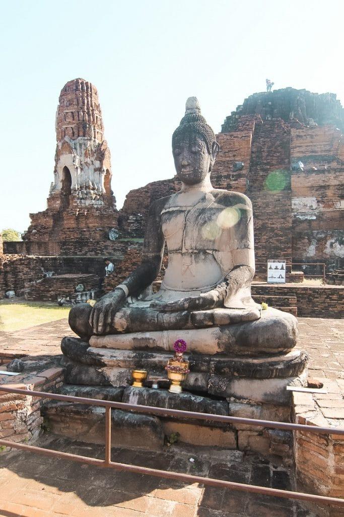 bezoek aan ayutthaya thailand