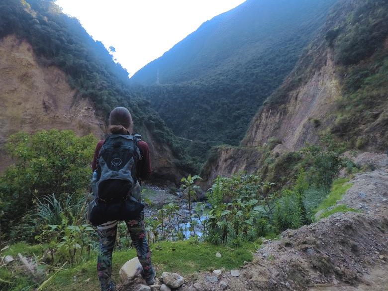 Backpack voor een trekking