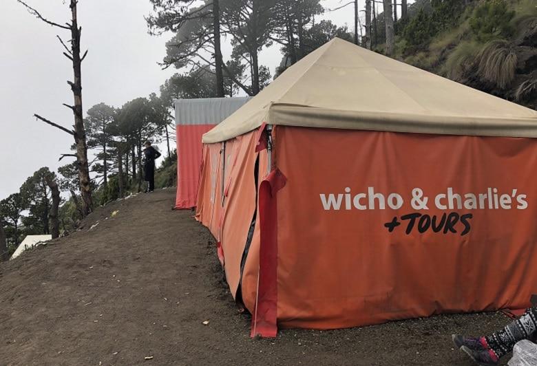 Welke tour Acatenango vulkaan