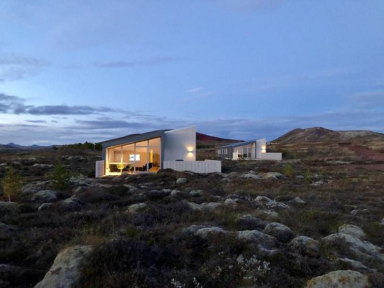 Groot vakantiehuis in IJsland