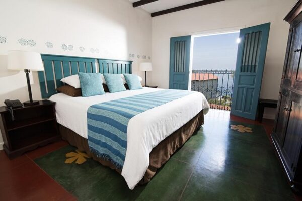 Hotel tip Flores Guatemala