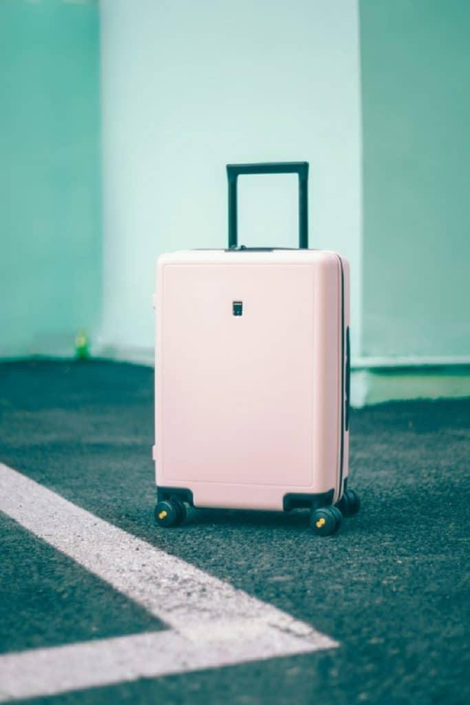 Reizen met een koffer
