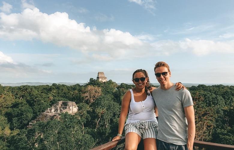 Uitzichtpunten Tikal Guatemala