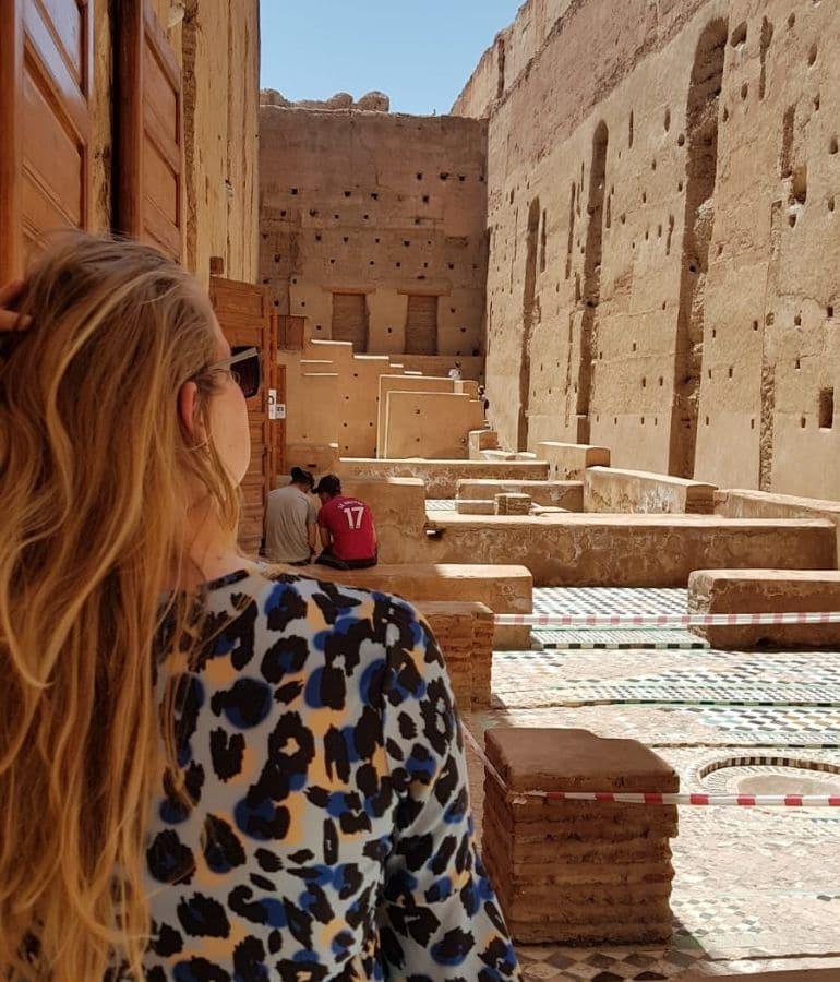 tips om te doen in marrakech marrakesh badi palace bezoeken