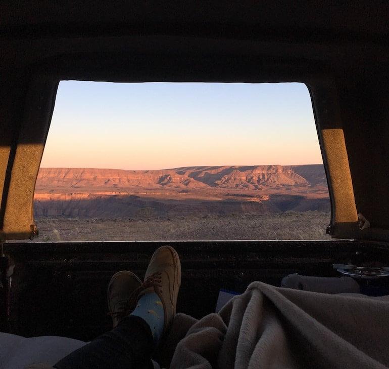 camperreis namibie