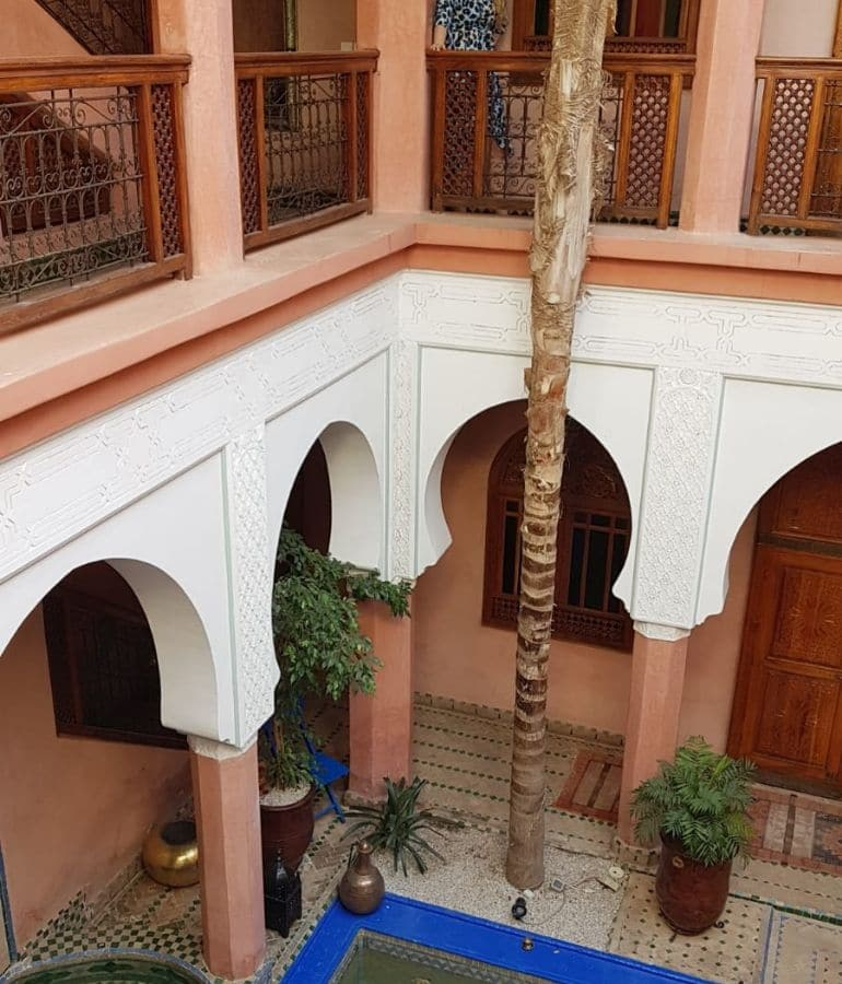 waar slapen in marrakech riad tips