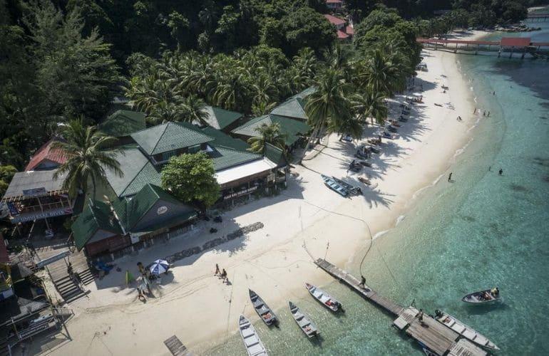 perhentian eilanden vervoer boot vliegtuig
