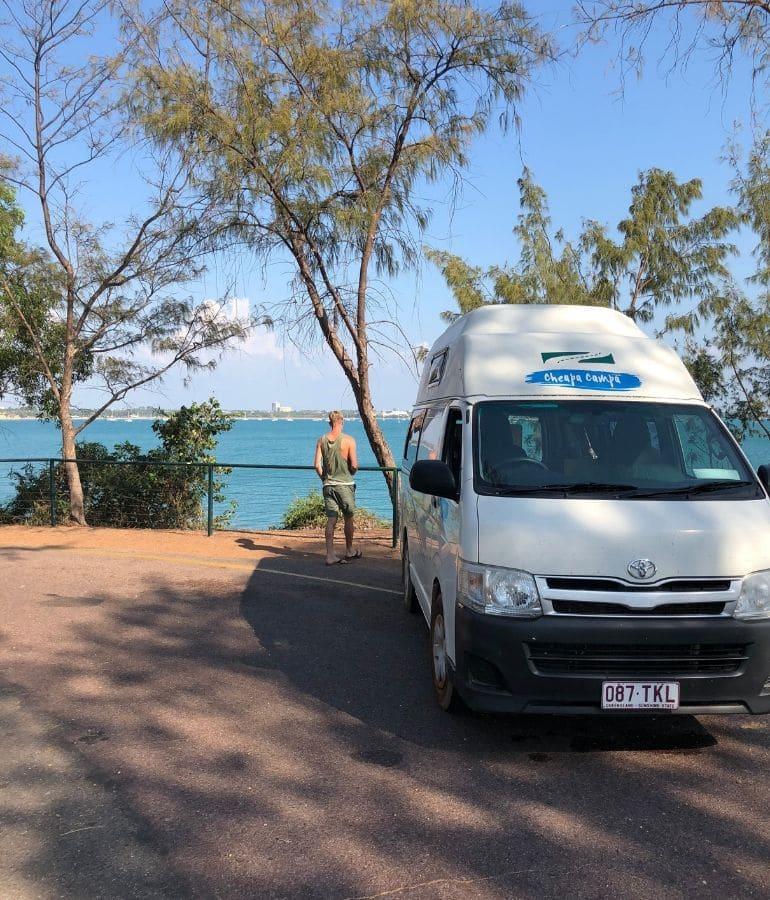 goede landen voor camperreis australie