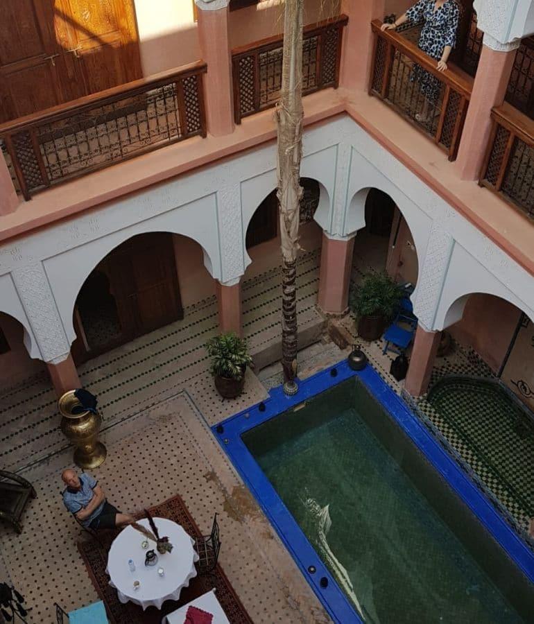 accommodatie marrakech verblijven waar te slapen