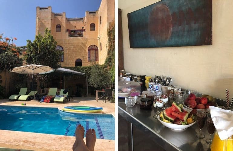 Gozo tips overnachten