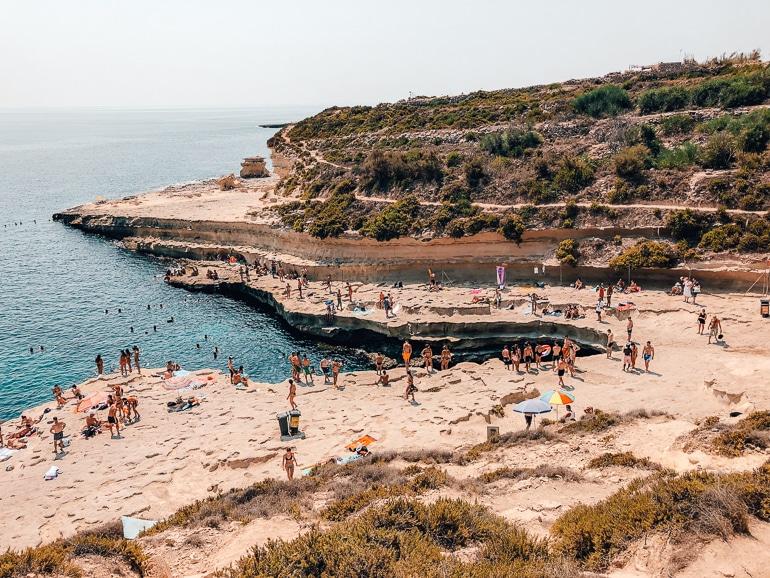 St peters pool malta
