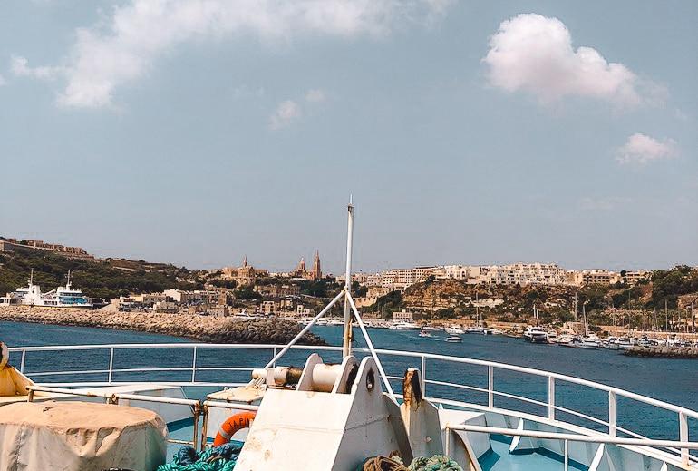 Veerboot malta gozo