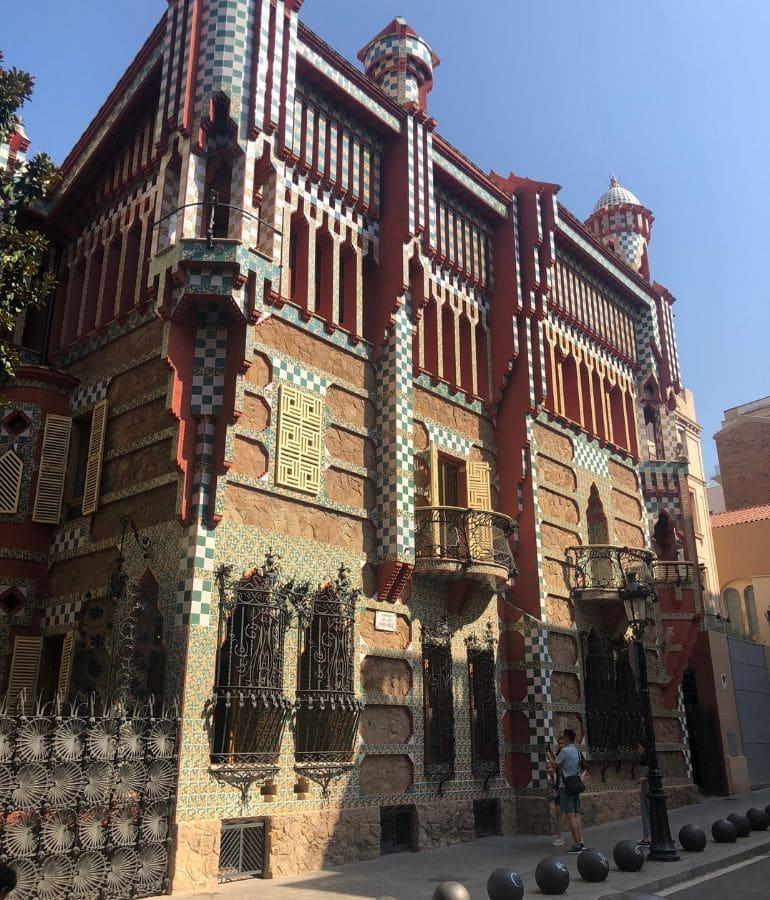 casa vicens, batllo en mila bezoeken in barcelona