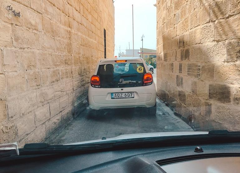 auto rijden malta