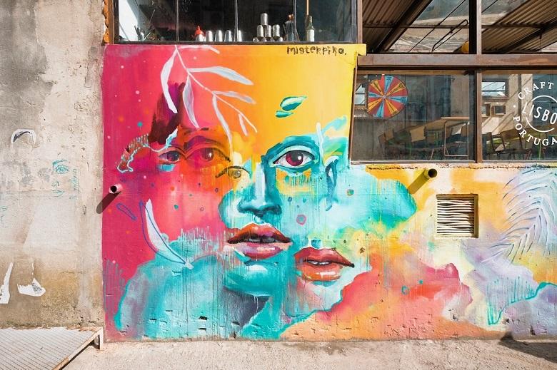 graffiti lissabon lx factory