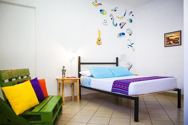 Goedkope hostel tips Flores Guatemala