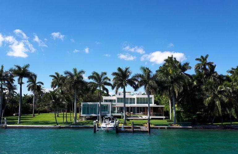 beroemdheden huizen miami