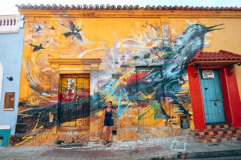 streetart cartagena getsemani