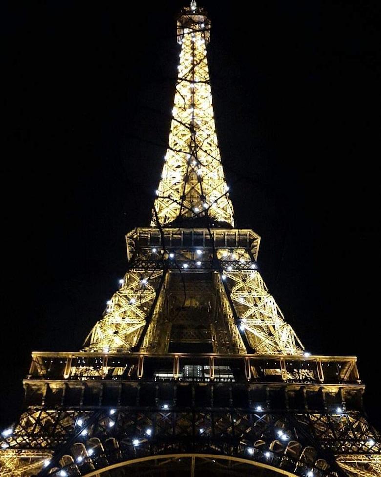 Parijs eiffeltoren Oud en Nieuw