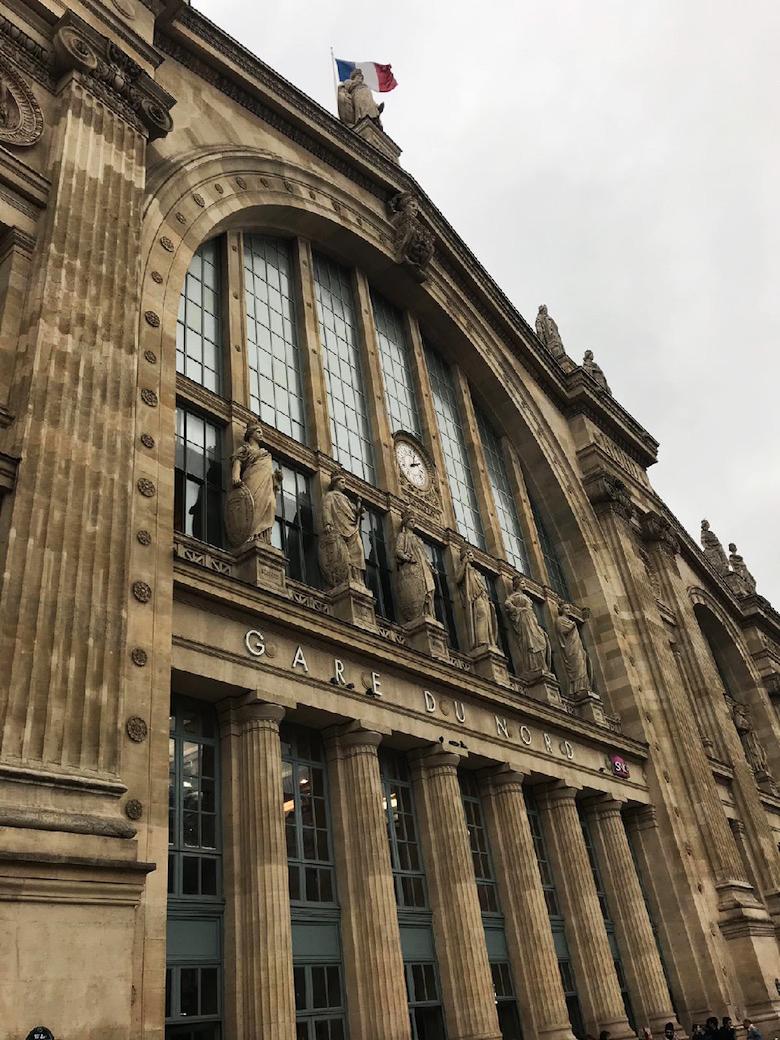 Parijs Thalys trein