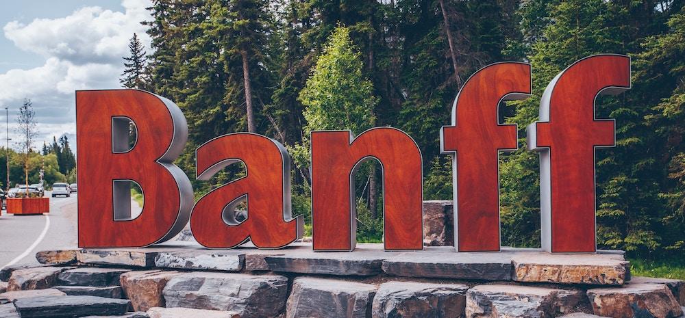 Banff national park camping tips