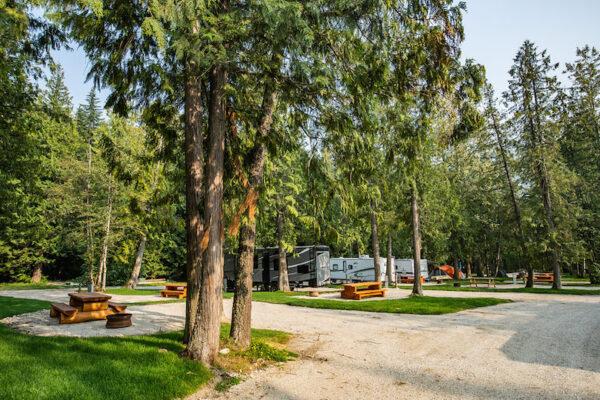 Camping revelstoke